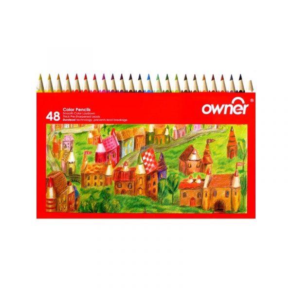 مداد رنگي 48 رنگ اونر مدل 141748
