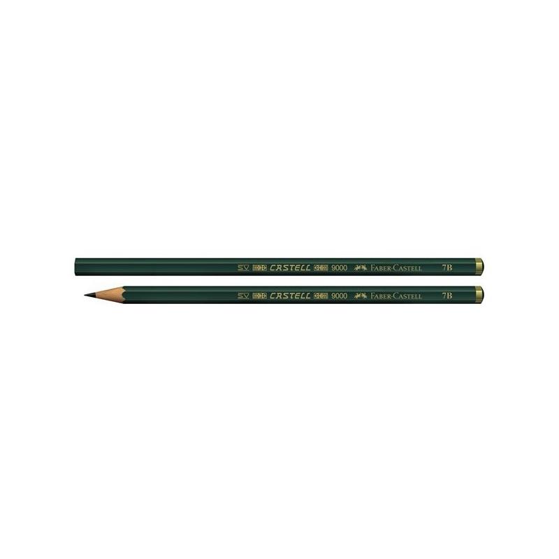 مداد طراحی فابر کاستل مدل 9000 با درجه سختي نوک 7B
