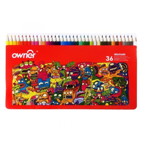 مداد رنگي 36 رنگ اونر مدل 141736
