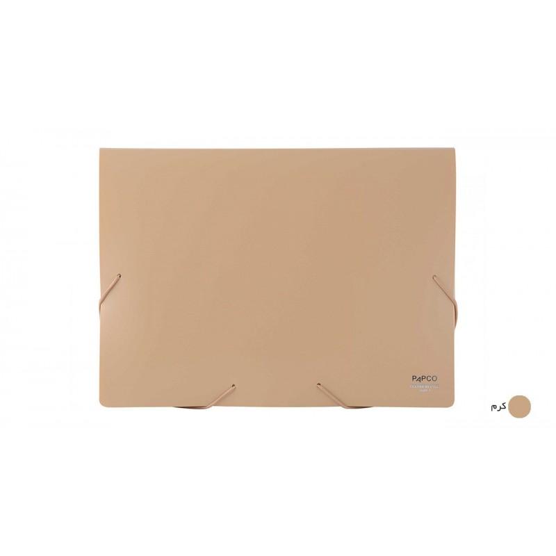 پوشه کش دار پاپکو کد S-501 سايز A4