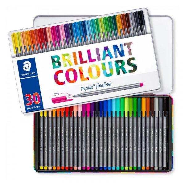 روان نويس 30 تریپلاس رنگ استدلر مدل Triplus Brilliant Colours کد 334 M30