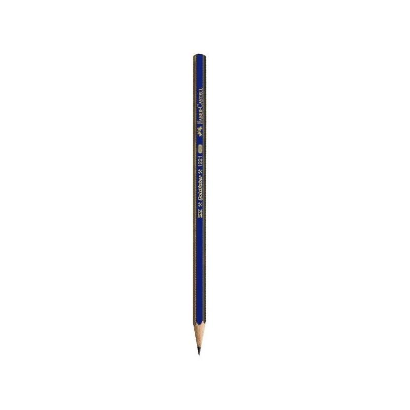 مداد طراحي فابر کاستل مدل گلدفابر با درجه سختي نوک 4B