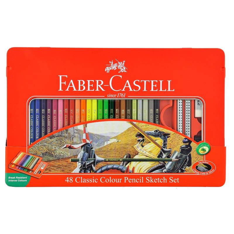 مداد رنگی فابر کستل ست اسکچ