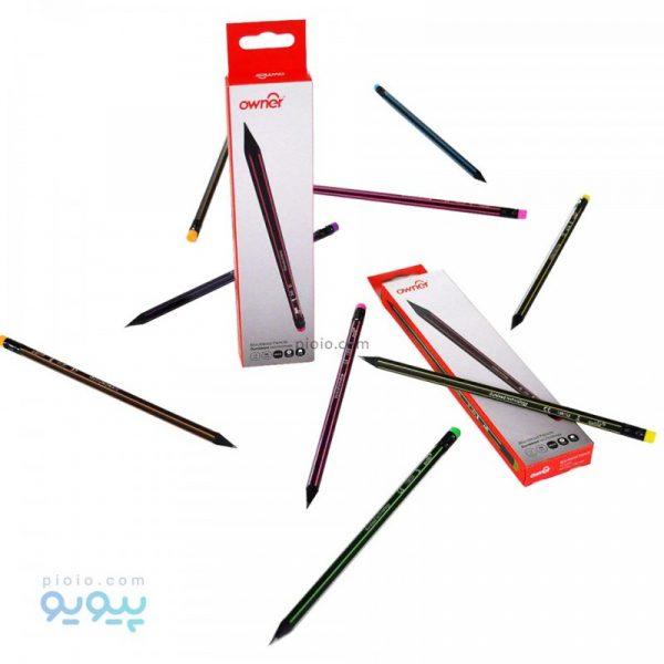 مداد پاک کن دار اونر بسته 12 عددی