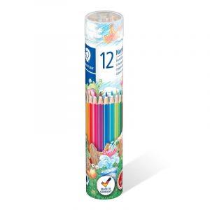 مداد رنگی استدلر لوله ای 12 رنگ