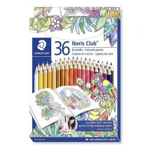 مداد رنگی استدلر 36 رنگ مدل نوریس