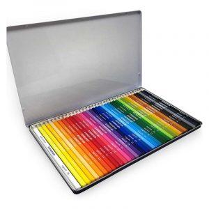 مداد رنگی استدلر جعبه فلزی مدل نوریس 36 رنگ