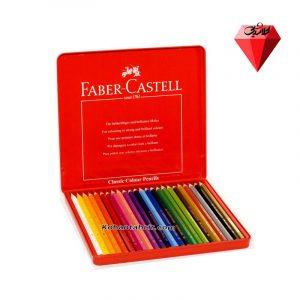 مداد رنگی 24 رنگ فابر کاستل