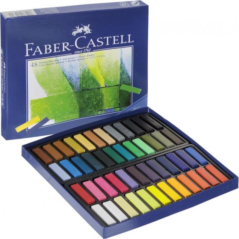 پاستل گچی 48 رنگ مدل creative فابر کاستل
