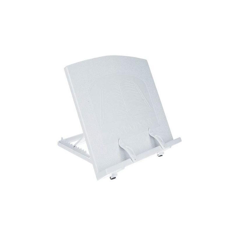 کتابیار سفید پلاستیکی