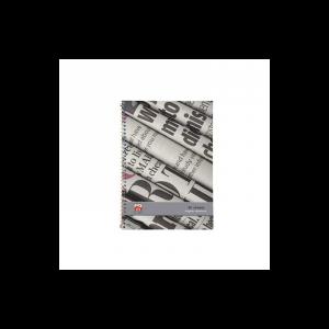 دفتر 2خط 80 برگ نهال کد 7625- روزنامه ای