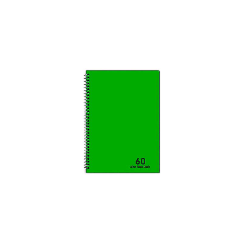 دفتر 4 خط 60 برگ نهال کد 7633- سبز
