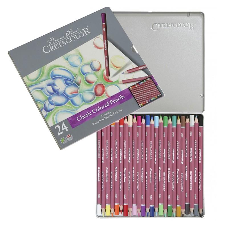 مداد رنگی 24 رنگ کرتاکالر مدل 27024