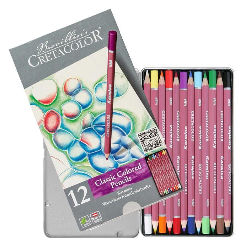 مداد رنگی 12 رنگ کرتاکالر مدل 27012
