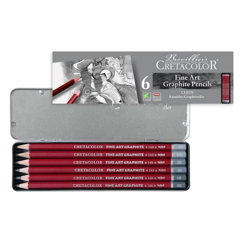 ست 6 عددی مداد طراحی سری B مدل 16025